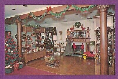 MILLVILLE NJ VTG CHROME PC CHRISTMAS SHOP INTERIOR VIEW WHEATON VILLAGE