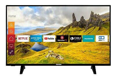 Telefunken XU50J521 50 Zoll Fernseher 4K UHD HDR Smart TV Prime Video / Netflix