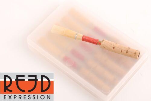 Reed Expression 5 Pcs Quality German Oboe Reed Medium Soft, Medium, Medium Hard
