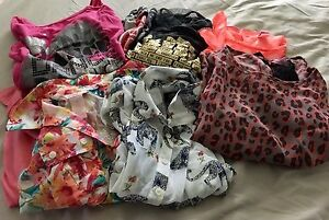 Girls size 10-12 shirt lot