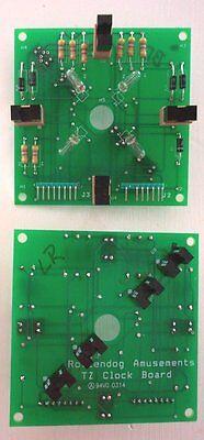 Brand New CLK001 Twilight Zone Clock board for Twilight Zone Pinball machines