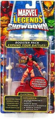 Marvel Legends Superhero Showdown Booster Pack with Elektra Action Figure (Elektra Superhero)