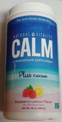 Natural Vitality Calm, Plus Calcium 16oz