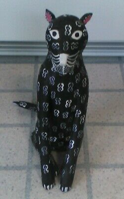Vintage Day Of The Dead Cat