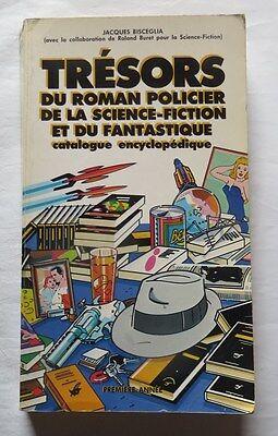 Trésors du roman policier, de la science fiction et du fantastique de Jacques Bi