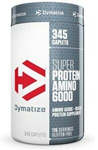 Dymatize Super Amino 6000 Extended Release Formula, 345 Count