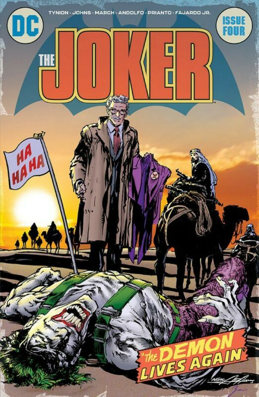 Joker #4 NEAL ADAMS Homage BY NEAL ADAMS NM PRE ORDER 3K PRINT RUN