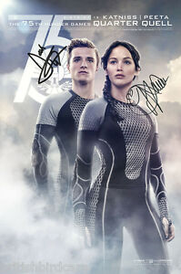 HUNGER-GAMES-CATCHING-FIRE-Autograph-POSTER-Signed-Photo-Quality-Re-Print