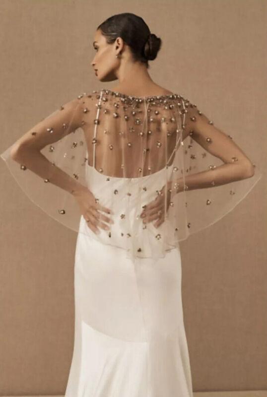NWT BHLDN Terani Couture Palmer Cape Size M/L