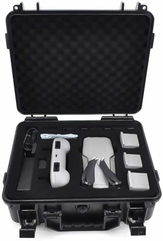 Waterproof Hard Case for DJI Mavic Air 2 Fly More Combo Accessories (ABS Box)