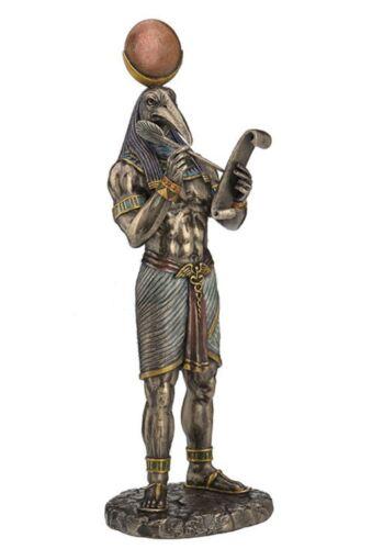 "11"" Thoth - Egyptian God of Knowledge Egypt Decor Deity Statue Sculpture Figure"