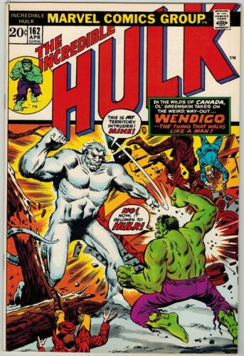 Hulk 162 (1972) NM- 9.2 First Appearance Wendigo!