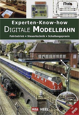 Fachbuch Experten-Know-how Digitale Modellbahn, informativ mit DVD, NEU