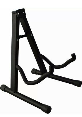 YMC Universal Folding Guitar Stand with Secure Lock - for Acoustic & Electric