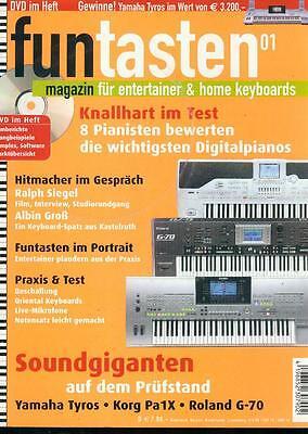 Fun Tasten 2005/01 (Mit DVD)
