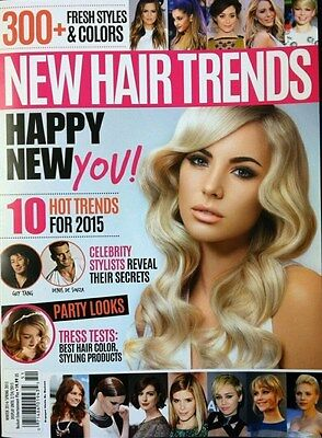 NEW HAIR TRENDS HAIR STYLE GUIDE SPRING 2015 - NEW - FREE SHIP!