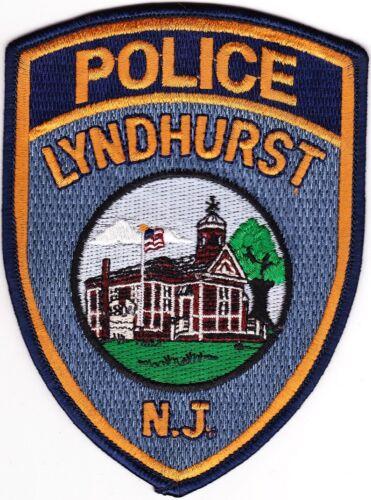 Lyndhurst Police New Jersey Patch  NEW !!!