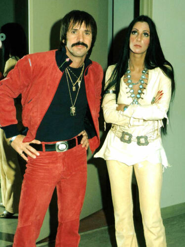 SONNY AND CHER - MUSIC PHOTO #E-36