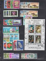 Lote De Series Completa Colonias Inglesas Bahamas, Anguilla,bahrain,bangladesh.. - colonia - ebay.es