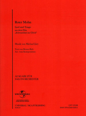 Roter Mohn Noten für Combo Salonorchester Michael Jary (Arr.)