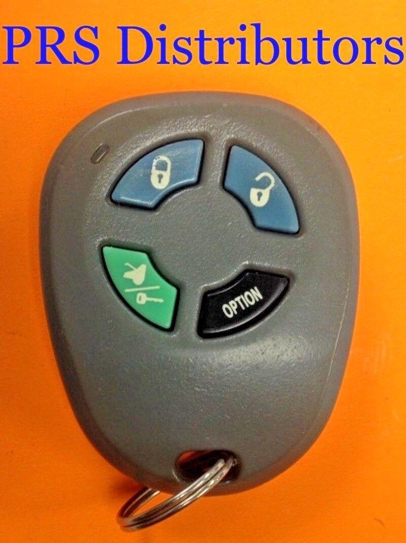 Prestige FCCID ELVATOC Remote Control Case Replacement with 4-Button Rubber Pad