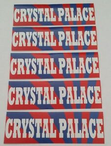 Crystal Palace FC Stickers - CPFC Sticker Set - Lot of 15