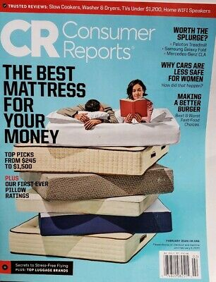 Consumer Reports Feb 2020 The Best Mattress for Your Money  FREE SHIPPING