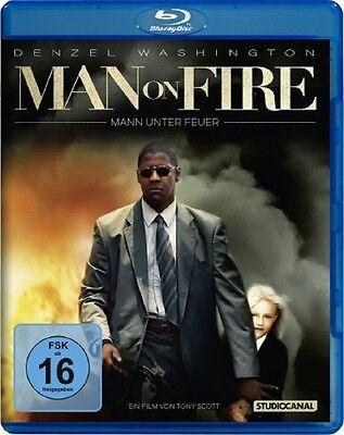 Blu-ray * Man on Fire - Mann unter Feuer * NEU OVP * Denzel Washington