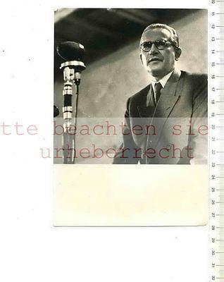 ORIGINAL PRESSEFOTO: ARBEITSMINISTER ÖCHSLE - Foto: Ludwig WIRTH MÜNCHEN
