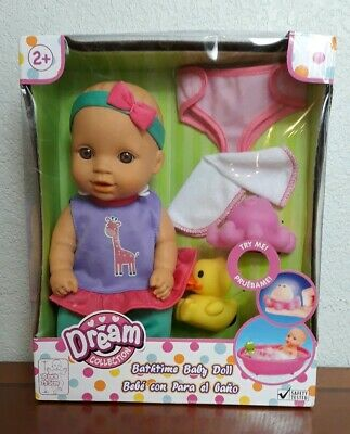 Dream Collection Bathtime Baby Doll Gift Set Doll + Accessories Rubber Ducky Ducky Bath Time Gift