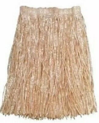 Hula Grass Skirts (HAWAIIAN GRASS HULA SKIRT ADULT SIZE Luau Party Costume Birthday)