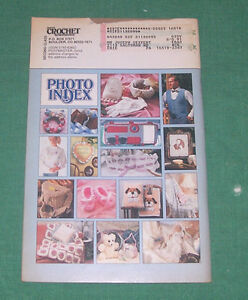 Annies Crochet Newsletter 1992 Lot 4 Tablecloth Afghan Dolls Hat ...