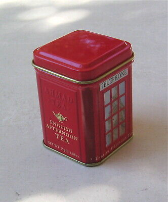 ENGLISH AFTERNOON TEA COLLECTORS TIN  TELEPHONE BOOTH for sale  Canada