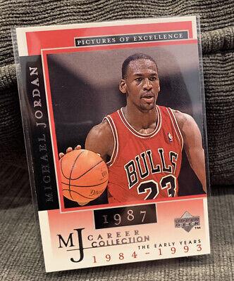1998 Upper Deck Michael Jordan Mj Career Collection Card #11