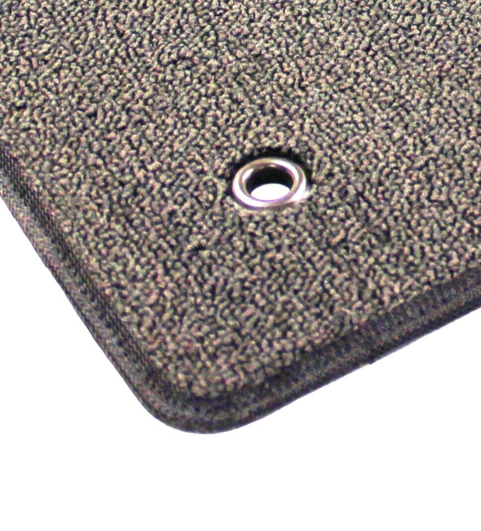 ::Pontiac Solstice Classic Loop Front Carpet Floor Mats - Choose Color & Logo