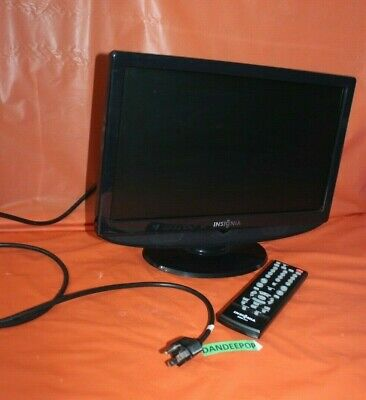 Insignia LCD Television TV Monitor With Remote NS-LCD15-09