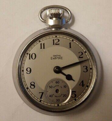Vintage Smiths empire Pocket Watch C.1940's - not working