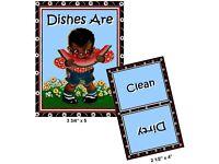DISHWASHER MAGNET SHIP FREE! Clean//Dirty CREAM OF WHEAT RASTUS