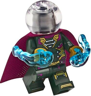NEW LEGO MYSTERIO MINIFIG figure minifigure 76128 76129 spider-man far from home