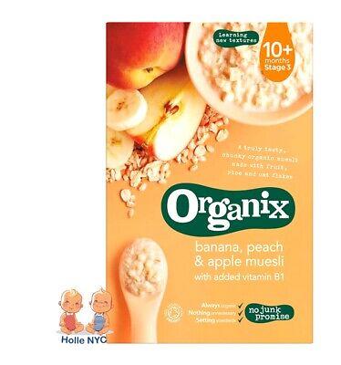 Organix Banana, Peach & Apple Muesli 200g - FREE SHIPPING
