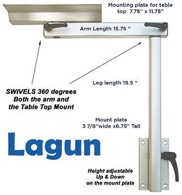 Lagun Swivel Table Leg for RV & Marine