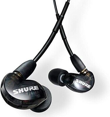 SHURE SE215-K Sound Isolating In-Ear Headphones Earphones Earbud BLACK, Open Box Ear Isolating Headphones