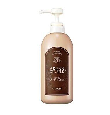 [SKINFOOD]  Argan Oil Silk Plus Hair Conditioner 500ml (New) -Korea cosmetics
