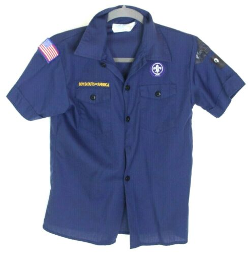 Youth Medium Cub Scout Uniform Great for a Camp Shirt!