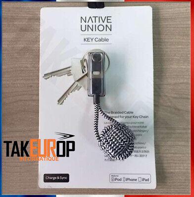 Native Union Key Câble Lightning vers USB-A-Zebra