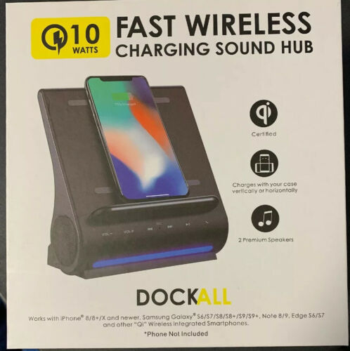 Azpen Dockall D108 - Qi Wireless Fast Charging Docking Stati