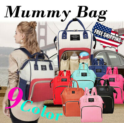 Living Traveling Share Baby Diaper Bag Multi-Function Waterproof Backpack Nappy