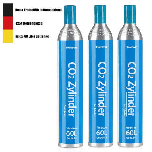 CO2 Zylinder Soda Wassersprudler Reservezylinder Kartusche für Soda-Stream 60L