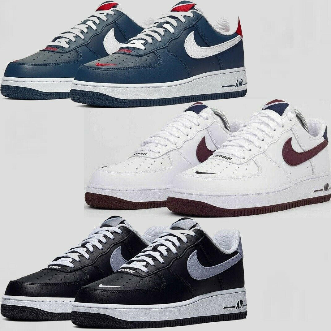 Nike Air Force 1 Low '07 LV8 4 SWOOSH PACK Sneakers Men's Lifestyle Comfy Shoes