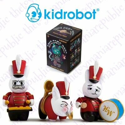 Set 3 Kidrobot Labbit Band Camp 3000 Mini Series Figure The Marching Hares Band for sale  Shipping to Canada
